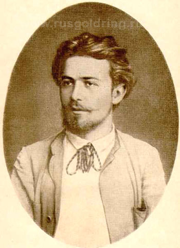 Портрет А.П.Чехова, 1888 год